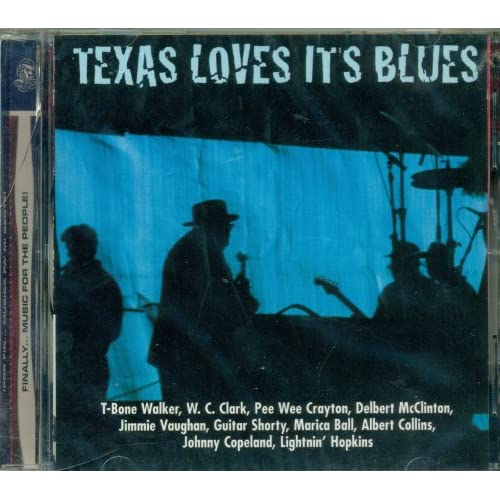 Image 1 of Texas Loves It's Blues By Various On Audio CD Album