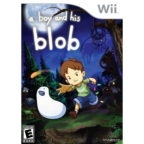 A Boy And His Blob For Wii With Manual and Case