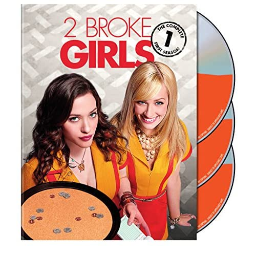 2 Broke Girls: The Complete First Season On DVD With Kat Dennings Comedy