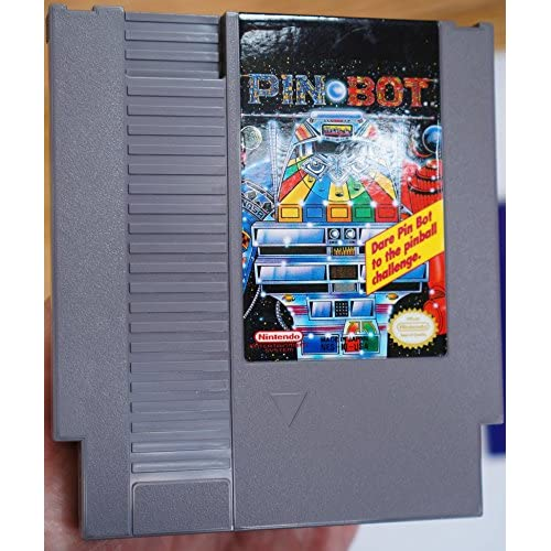 Image 0 of Pin Bot By Nintendo For Nintendo NES Vintage