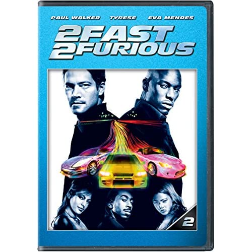 2 Fast 2 Furious On DVD with Paul Walker