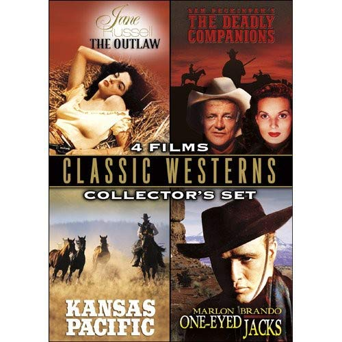 Image 0 of Classic Westerns Sets The Outlaw / The Deadly Companions / Kansas Pacific / One-