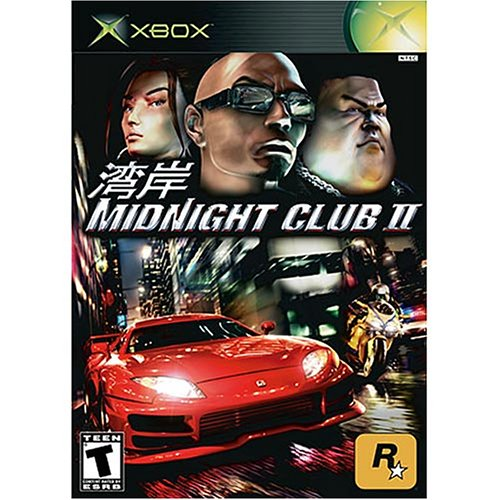 Old Xbox Games Racing Games : Midnight club xbox for original racing