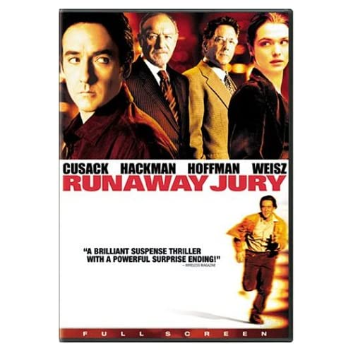 Image 0 of Runaway Jury Full Screen Edition On DVD With John Cusack