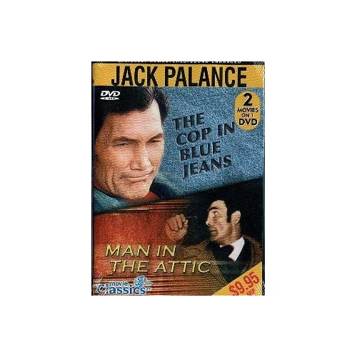 Image 0 of The Cop In Blue Jeans / Man In The Attic On DVD with Jack Palance
