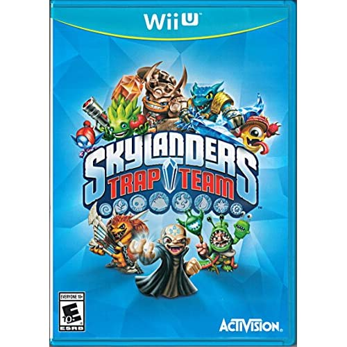 Image 0 of Skylanders Trap Team Replacement Game Only For Wii U