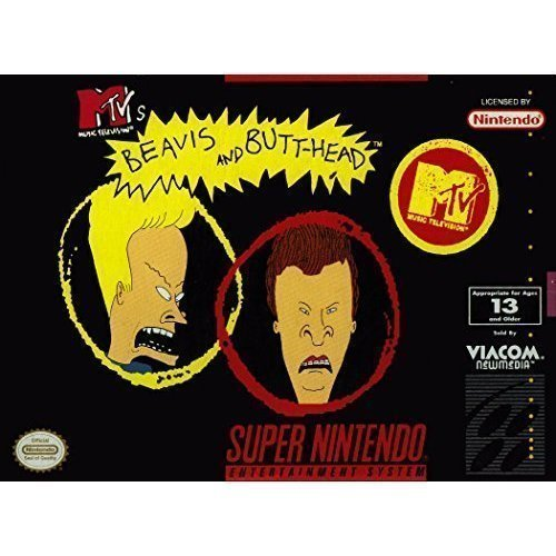 MTV's Beavis And Butthead For Super Nintendo SNES
