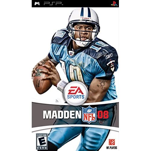 Madden NFL 08 Sony For PSP UMD Football