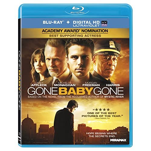Gone Baby Gone Blu-Ray On Blu-Ray With Morgan Freeman Drama