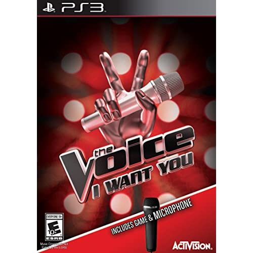 The Voice Bundle With Microphone For PlayStation 3 PS3 Music