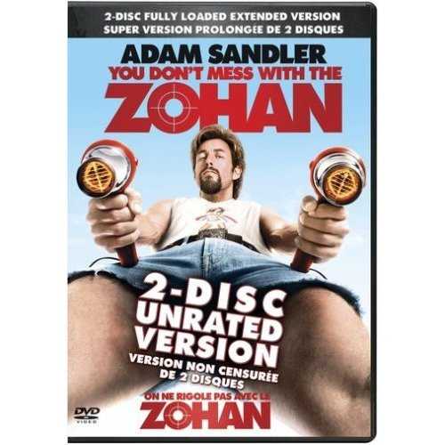 Image 0 of You Dont Mess With The Zohan Unrated On DVD Comedy
