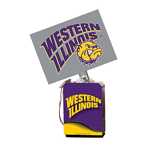 Image 0 of NCAA Western Illinois Leathernecks Adult Solar Buddy 6.5