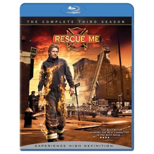 Image 0 of Rescue Me: Season 3 Blu-Ray On Blu-Ray With Denis Leary TV Shows
