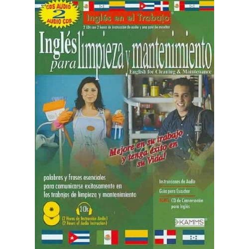 Image 0 of Ingles Para Limpieza Y Mantenimiento By Kamms On Audio CD Educational