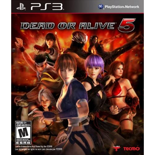 Dead Or Alive 5 For PlayStation 3 PS3