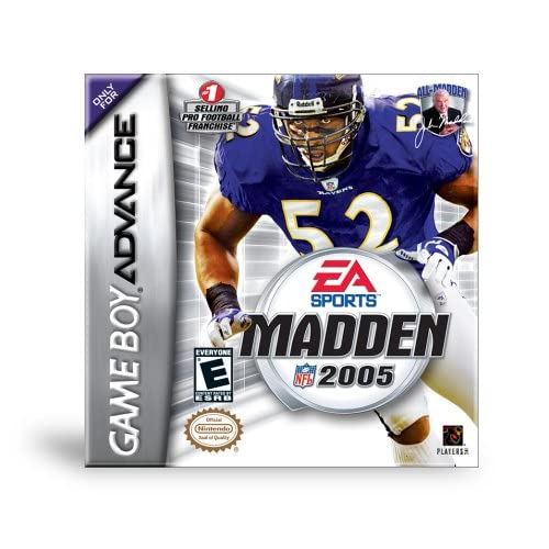 Image 0 of Madden NFL 2005 For GBA Gameboy Advance Football