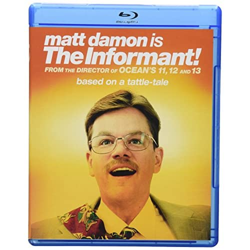 Image 0 of The Informant! Blu-Ray On Blu-Ray With Matt Damon Comedy