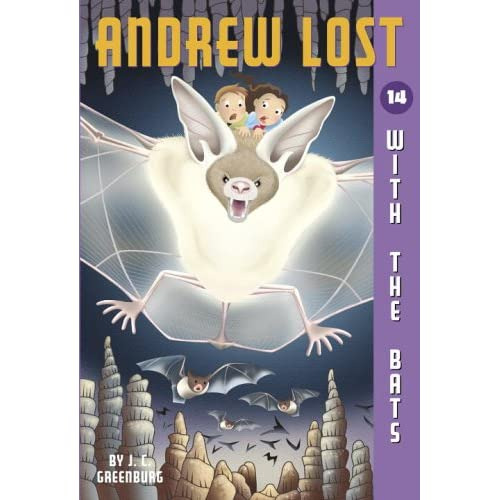Andrew Lost #14: With The Bats A Stepping Stone BookTM By Greenburg Jc