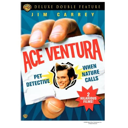 Image 0 of Ace Ventura Deluxe Double Feature Pet Detective / When Nature Calls On DVD With