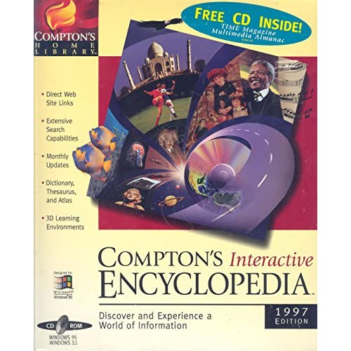 Image 0 of Compton's Interactive Encyclopedia 1997 Edition Software