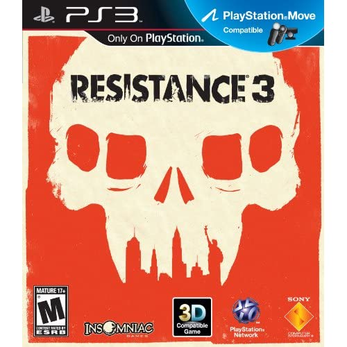 Resistance 3 For PlayStation 3 PS3 Shooter