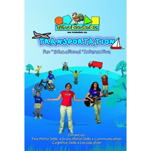 Image 0 of Tot-A-Doodle-Do! Transportation On DVD With Molly Manners
