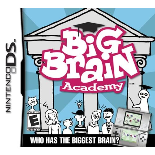 Image 0 of Big Brain Academy For Nintendo DS DSi 3DS 2DS Puzzle Games