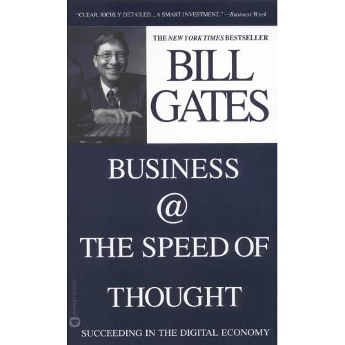 Image 0 of Business The Speed Of Thought Using A Digital Nervous System By Gates Bill Steff