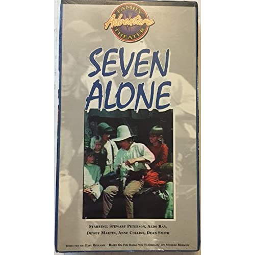 Image 0 of Seven Alone On VHS With Dewey Martin 7