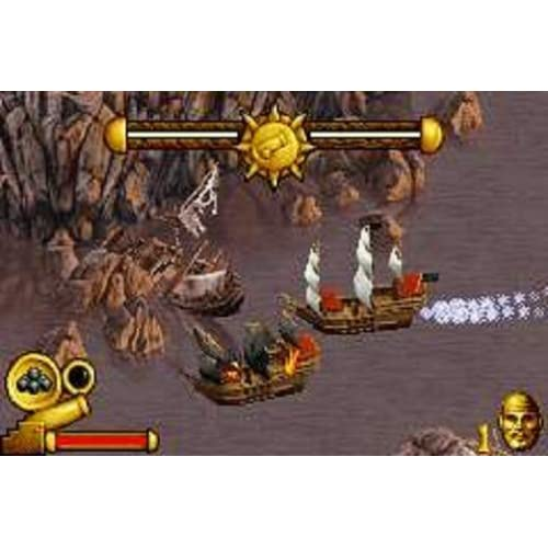 Image 2 of Pirates Of The Caribbean: The Curse Of The Black Pearl GBA Action