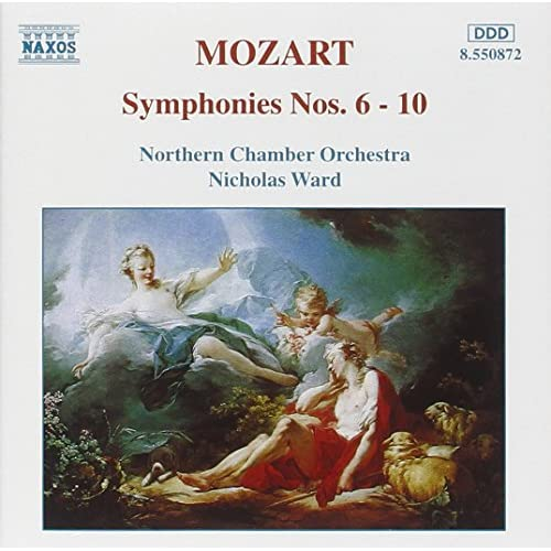 Symphonies 6-10 Album 2013 By Wa Mozart On Audio CD