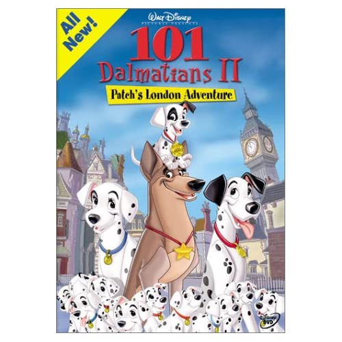 Image 0 of 101 Dalmatians II Patch's London Adventure On DVD With Barry Bostwick Disney Ani