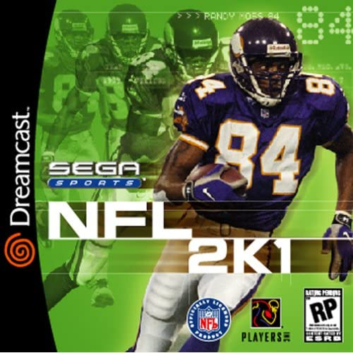 NFL 2K1 For Sega Dreamcast Football With Manual And Case