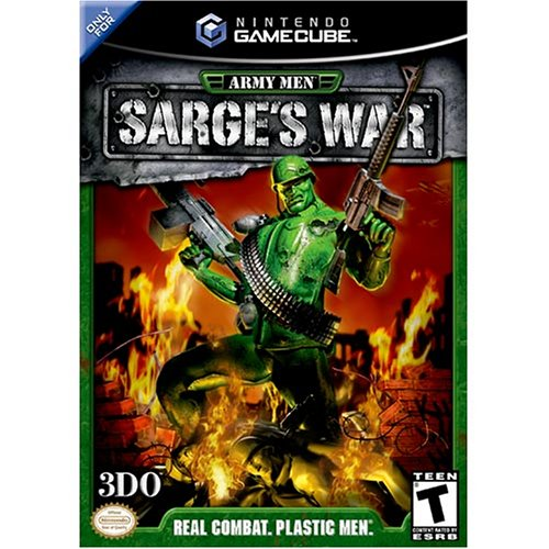 Army Men Sarges War For GameCube