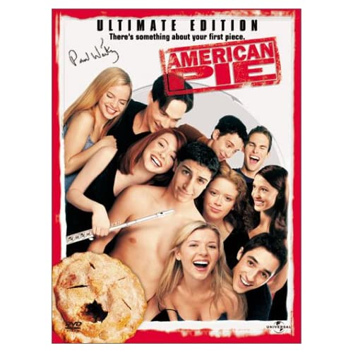 Image 0 of American Pie Widescreen Rated Ultimate Edition On DVD With Jason Biggs Comedy