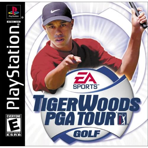Tiger Woods PGA Tour Golf For PlayStation 1 PS1