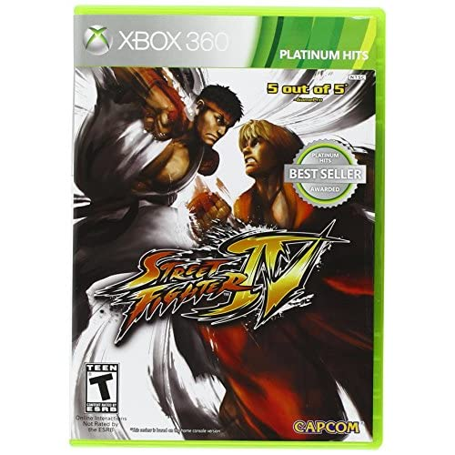 Fighting Games For Xbox 360 : Street fighter iv for xbox fighting