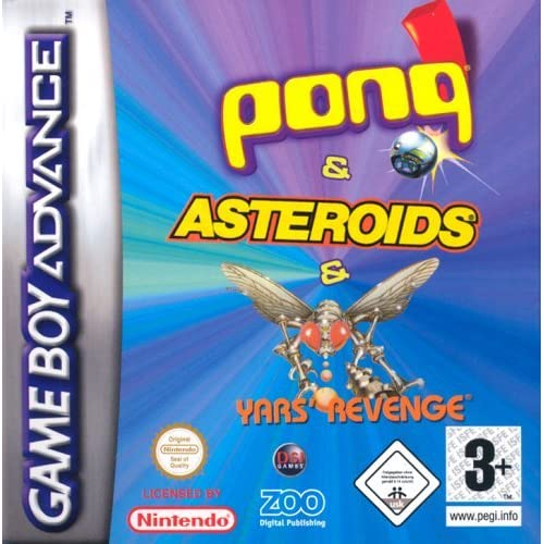 Image 0 of Pong/asteroids/yars Revenge GBA By Zoo Digital For GBA Gameboy Advance