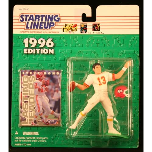 1996 Steve Bono NFL Starting Lineup Figure Toy Football