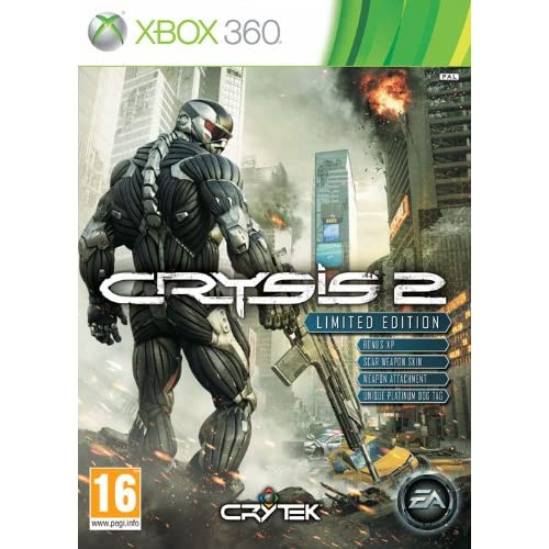 Crysis 2 Limited Edition Xbox 360 For Xbox Original