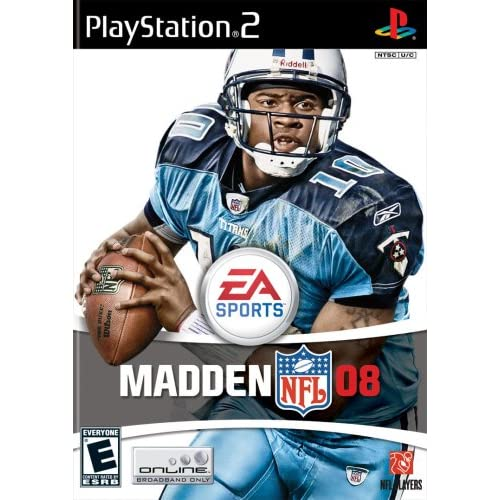 Madden NFL 08 For PlayStation 2 PS2 Football