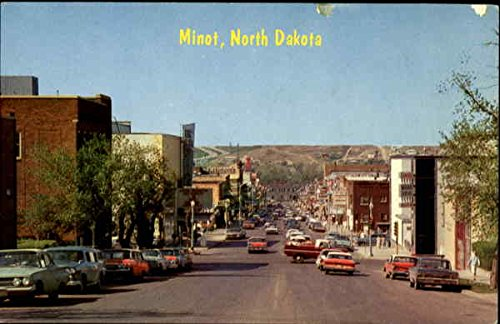 Vintage Postcard of Minot, North Dakota