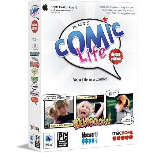 Image 0 of Comic Life Deluxe Hybrid Software