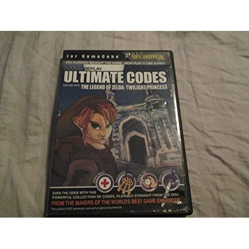 Action Replay Ultimate Codes The Legend Of Zelda: Twilight Princess For GameCube