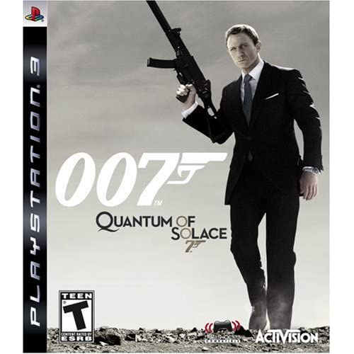 007 Quantum Of Solace For PlayStation 3 PS3 Shooter