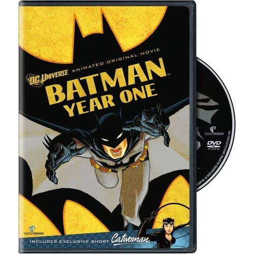Image 0 of Batman: Year One Single-Disc Edition On DVD With Eliza Dushku Mystery