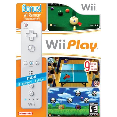 Image 0 of Wii Play And Nintendo OEM Wii Remote Controller Wii U