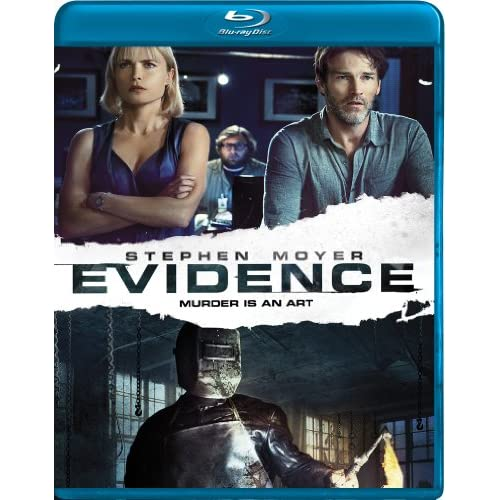 Image 0 of Evidence Blu-Ray On Blu-Ray With Stephen Moyer Horror