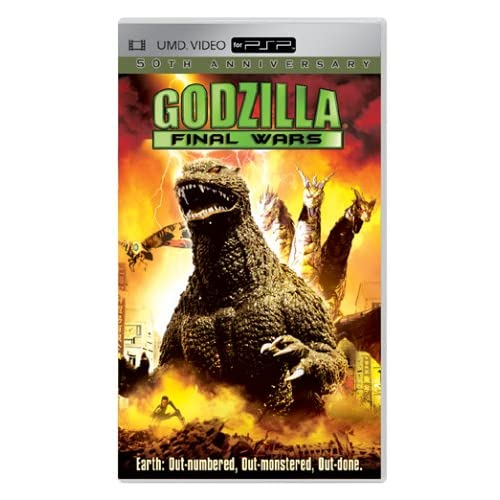 Image 0 of Godzilla: Final Wars UMD For PSP