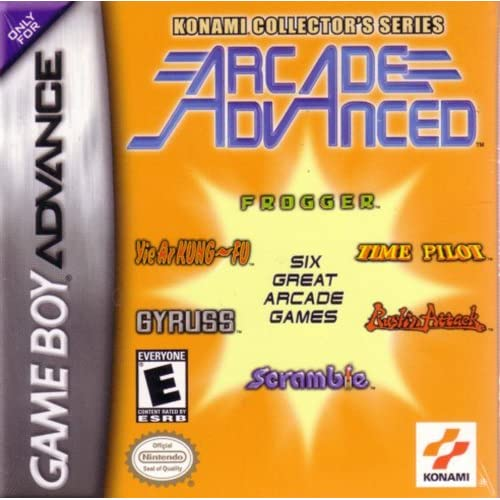 Image 0 of Konami Series: Arcade Advanced For GBA Gameboy Advance
